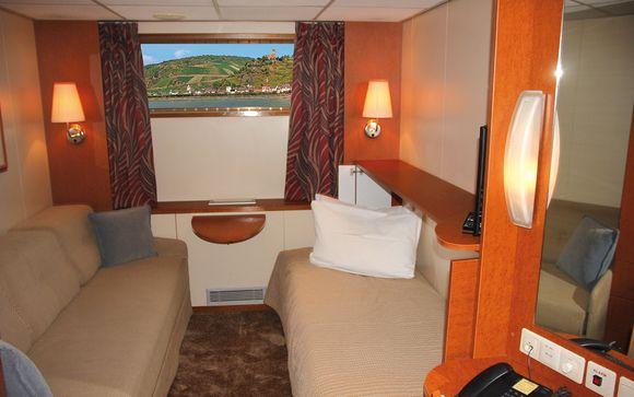 Bateau-Hotel MS Carmen 4*