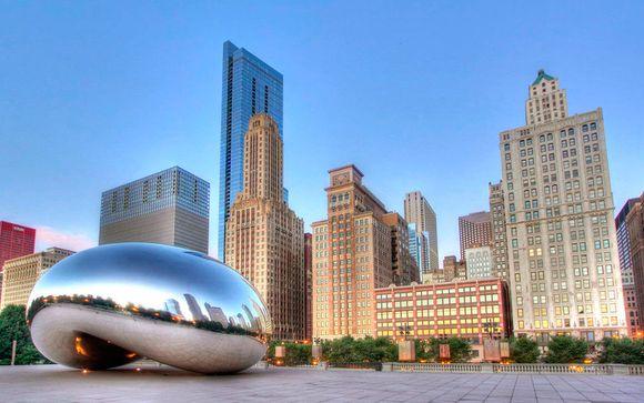 Da New York a Chicago:dalla grande mela al Cloud Gate
