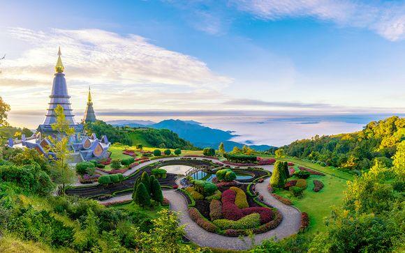 Templi e meraviglie naturali in tour a Nord di Bangkok