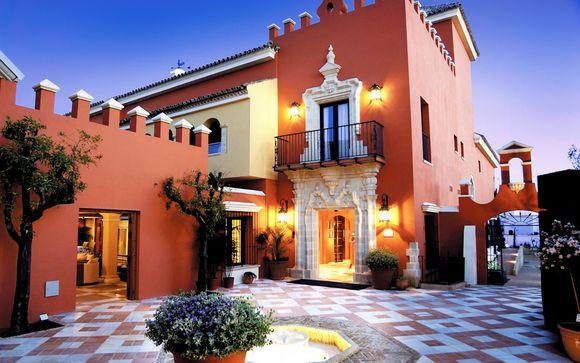 Elegante villa con giardino e piscina riscaldata in città