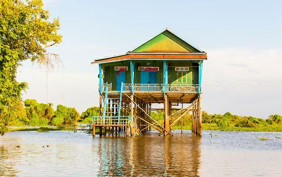Cambogia - Itinerario