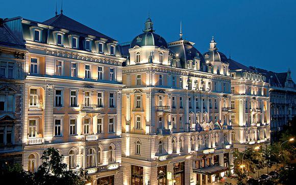 Lusso barocco a 5* nel cuore di Budapest
