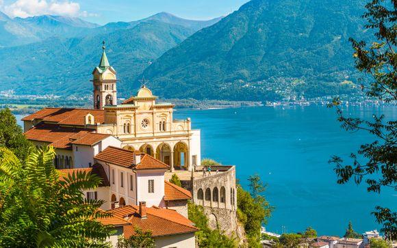 Romantico castello medievale sul Lago Maggiore