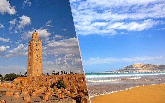 A scelta per il vostro soggiorno a Marrakech e Agadir