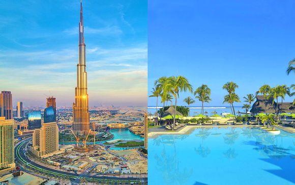 Fairmont Hotel Dubai 5* + Sofitel Mauritius l'Imperial Resort & SPA 5*
