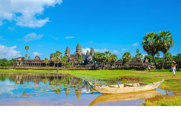 Tour privato nel Sud del Vietnam, templi di Angkor Wat + soggiorno mare