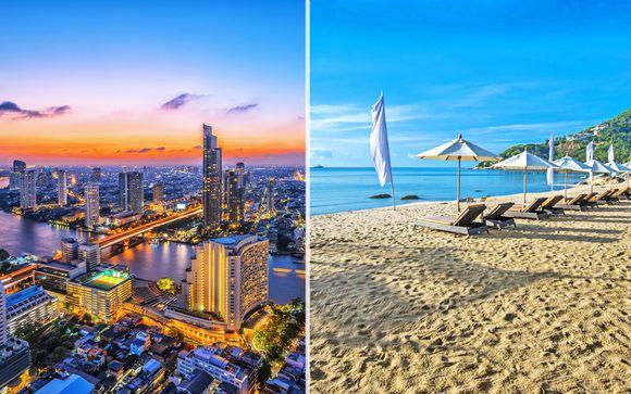 Vivace skyline a Bangkok e resort 4* sulla spiaggia di Chaweng