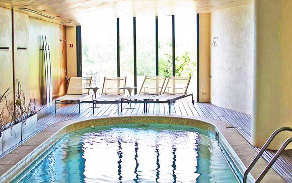 Atmosfere raffinate in incantevole Wine resort 5* con spa