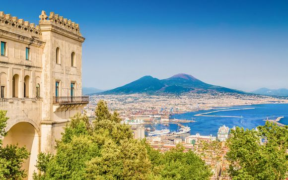 Relax in pieno centro e il fascino di Pompei e Vesuvio