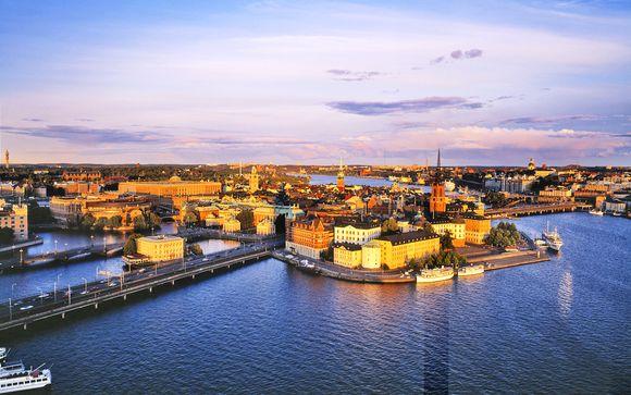 Combinato Stoccolma-Helsinki con Mini Crociera
