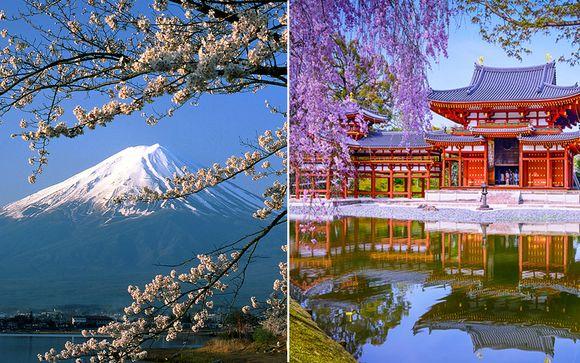 Combinato Tokyo + Kyoto in libertà
