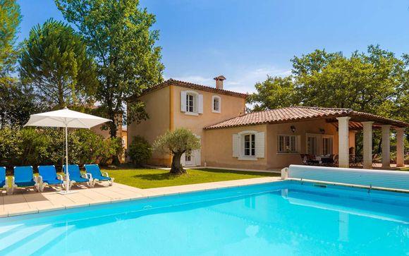 Residence 4* con spa e piscina in villaggi arroccati del Var