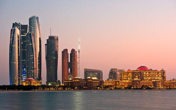 Uw stopover in Abu Dhabi