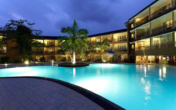 Uw strandverlenging in The Palms Hotel 4*