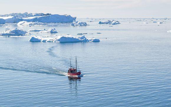 Uw reisprogramma voor aanbieding 1 (IJsland en Groenland)