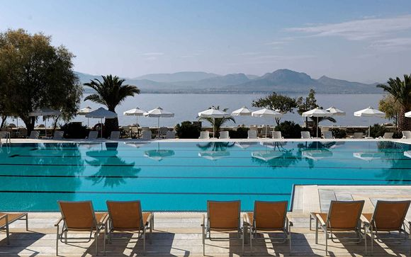 Picturesque Hotel on the Corinthian Gulf