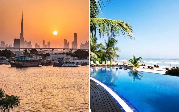 Crowne Plaza Dubai Festival City 5* & Adaaran Select Hudhuranfushi 4*