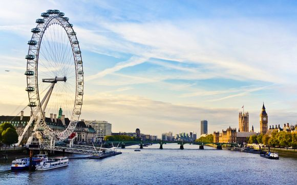 London Eye & River Cruise - staying at Thistle Kensington Gardens 4*