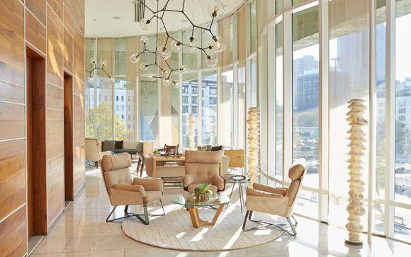 Modern SoHo Hotel with City Views