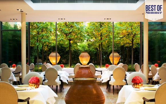 Luxury Design Hotel with Michelin Starred Restaurant