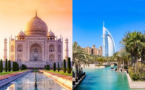 Superior Golden Triangle with Dubai Stopover 4/5*