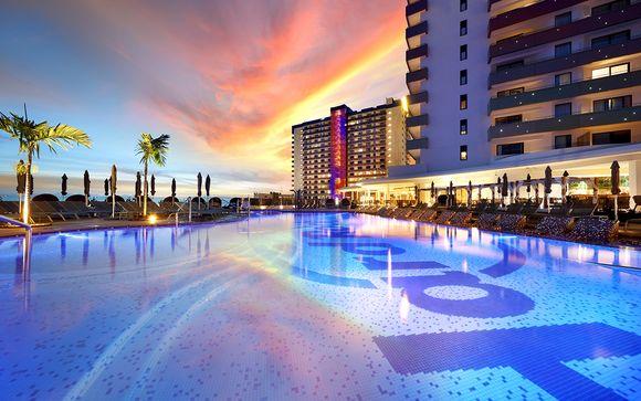 Trendsetting Design Hotel in Playa Paraiso