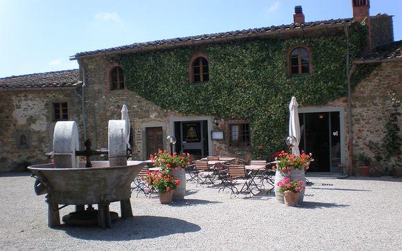 Agriturismo Borgo Castelvecchi Historical Mansion