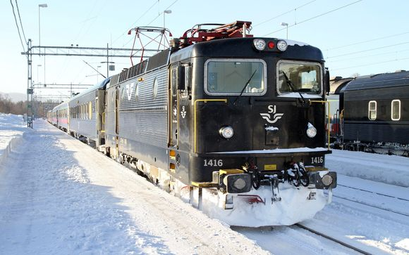 Night train from Stockholm - Kiruna