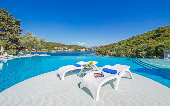 Tranquil Bay Resort near Korcula Old Town