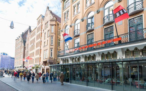 Hotel Amsterdam De Roode Leeuw 4*