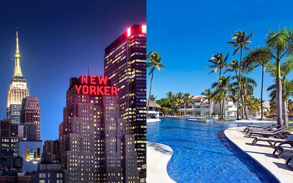 The New Yorker, A Wyndham Hotel 4* & Occidental Punta Cana 5*