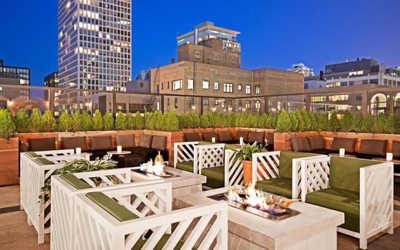 Raffaello Hotel Chicago & Optional The James New York - NoMad stay 4*
