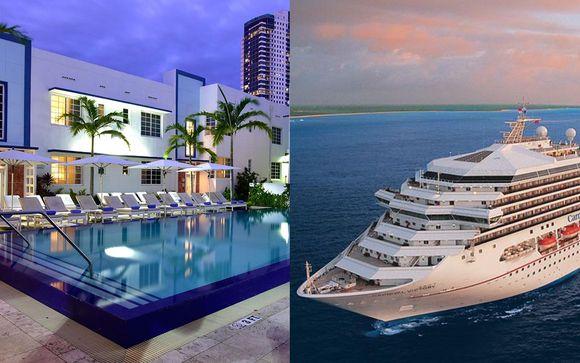 Pestana Miami South Beach 4* & Optional Bahamas Cruise