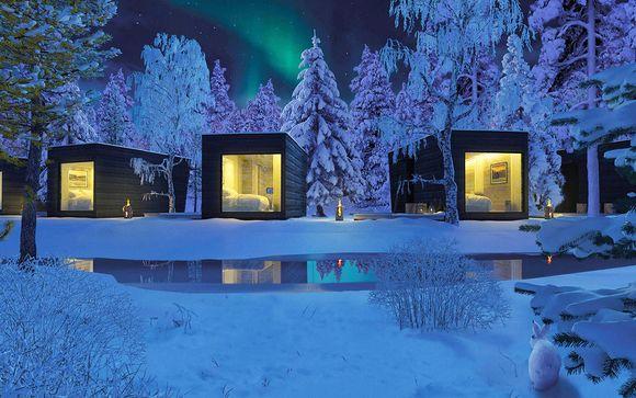 Unique Wilderness Design Huts and Luxury City Hotel