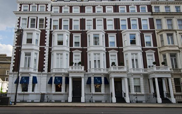K Hotel Kensington with Thames River Cruise