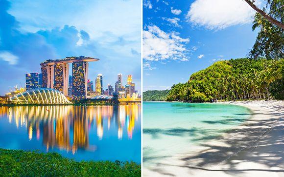 Oasia Singapore, The Lind Boracay & Shangri-La Mactan Island Cebu 4/5*