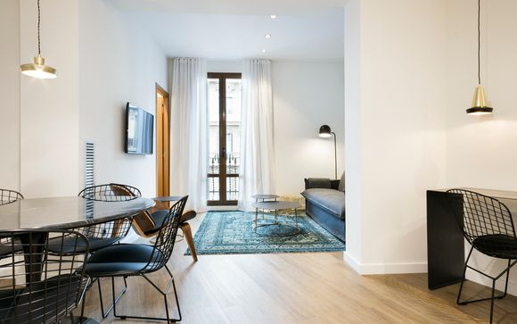 Family-Friendly Apartment Stay in Eixample