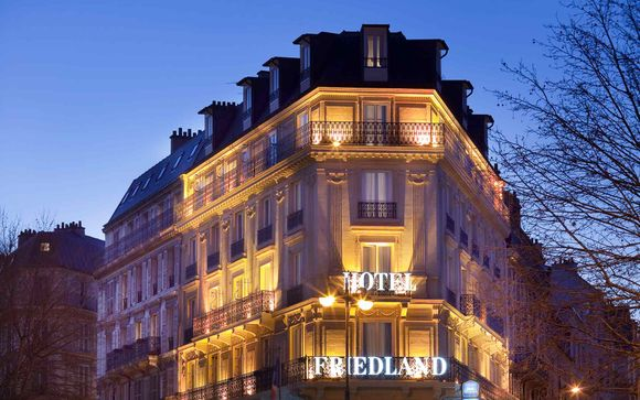 Chic Hotel by the Champs-Elysées