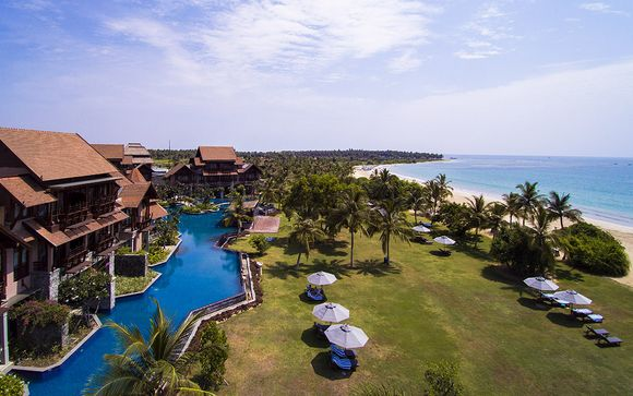 Luxury Sri Lankan Beach Resort With Balinese Spa