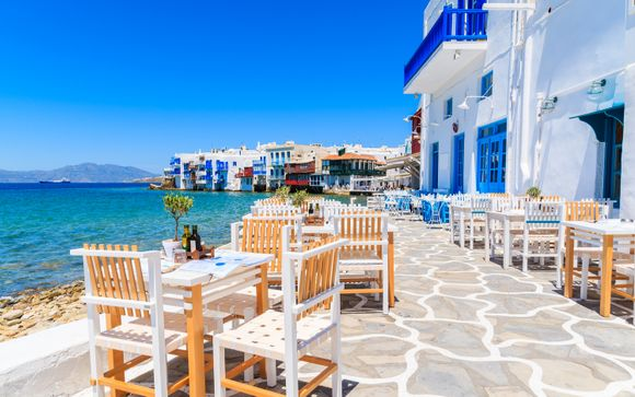 Five Islands of Cyclades