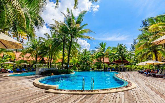 Khao Lak Bhandari Resort & Spa 4* & Optional GLOW Pratunam Bangkok 4*