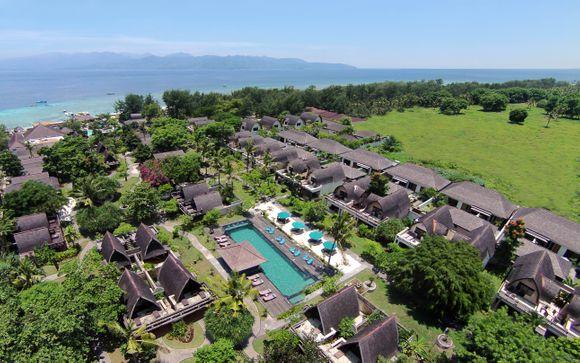 Hotel Vila Ombak Gili Trawangan 4*
