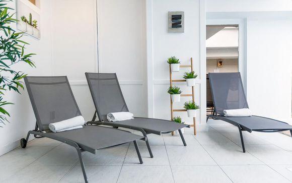 Uw inbegrepen toegang tot de spa bij de spa-aanbieding