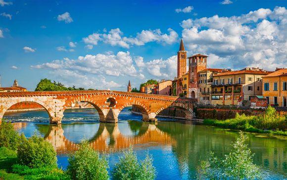 Appartamenti eleganti a 100 metri dall'Arena di Verona