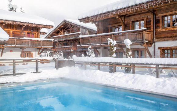 Hotel Les Loges Blanches Megève 4*