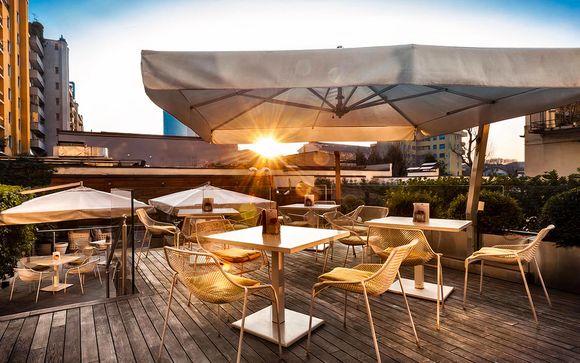 Benessere e relax in moderno 4* con terrazza panoramica