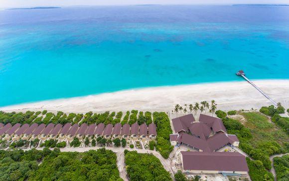 Poussez les portes du Hondaafushi Island Resort 4*