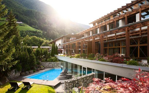 Design ecosostenibile in uno splendido scenario alpino