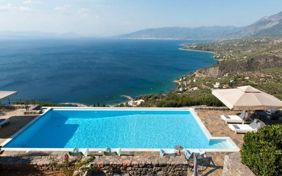 Soggiorno da sogno con piscina privata