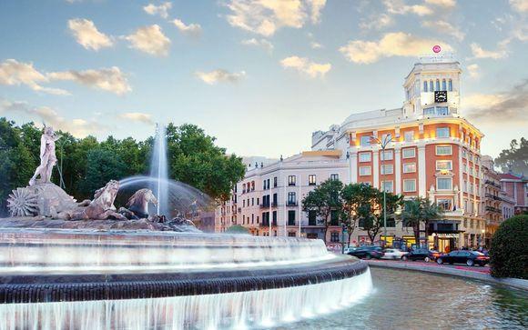 Soggiorno a 5* nel cuore della capitale spagnola